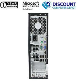 AMD Desktop Computer PC SFF 3.00GHz 8GB RAM 250GB HDD Windows 10 Home DVD WIFI