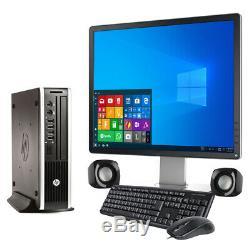 Computer Set PC Core i3 DELL HP Desktop SFF 8GB RAM 500GB HDD WINDOWS10 TFT WiFi