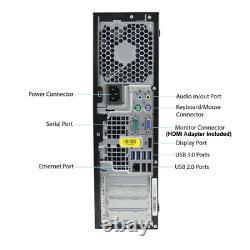 Custom Build HP i7 32GB 3TB SSD Windows 10 Pro HDMI WiFi BT Desktop PC
