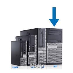 Dell Desktop PC i7 (16GB RAM, 500GB SSD + 3TB HDD, Windows 10) HDMI WiFi DVDRW