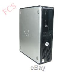 Dell/hp Desktop PC Windows 10 Computer Core 2 Duo Tower 4GB RAM 250GB