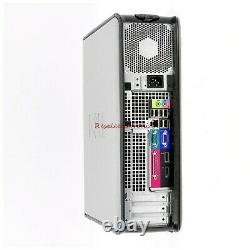 Dell or hp Desktop PC Computer Core 2 Duo 500GB 4GB DUAL 19 LCD WiFi Windows 10