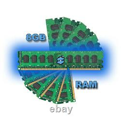 Desktop Computer Dell HP Fast PC 8GB RAM 240GB SSD Quad Thread i3 Windows10 WiFi