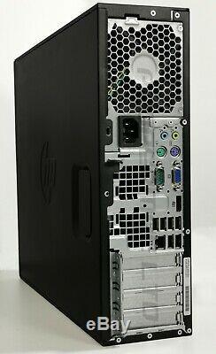 Dual Screen PC set HP Home Office Quad i5 500GB HDD 8 GB Ram Wi-fi Windows 10