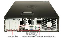 FAST HP PC COMPUTER DESKTOP CORE i5 SET 8GB 1TB HDD WIN 10 PRO 19 MONITOR WIFI