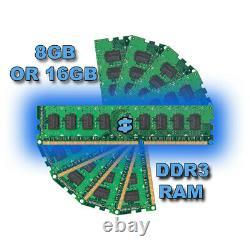 FULL DELL/HP CORE i5 SFF DESKTOP PC & 24 IN TFT COMPUTER WIN10 16GB RAM 480 SSD