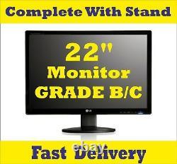 FULL DELL/HP Core i3/i5 DESKTOP PC & MONITOR 4/8/16GB RAM & Various HDD WIN-10