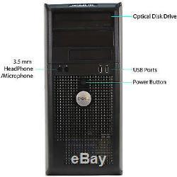 Fast Cheap Windows 10 Tower Computer PC Desktop HP DELL LENOVO ACER 4GB RAM WiFi
