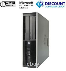 Fast HP 6005 AMD Desktop Computer Windows 10 PC 2.80GHz 8GB 250GB HD 17 LCD DVD