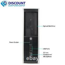 Fast HP 8200 SFF Desktop Computer Core i5-2400s 3.1GHz 8GB 320GB Windows 10 Home