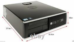Fast HP Desktop Computer Intel 3.0GHz 8GB RAM 500GB HD PC Windows 10 PRO WI-FI