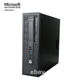 Fast HP Desktop Computer Intel Core i3 Windows 10 PC 8GB RAM 500GB HD DVD WIFI