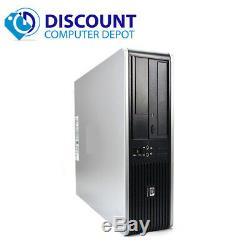 Fast HP Desktop Computer PC Intel Core 2 Duo 4GB DVD Wifi Windows 10 17 LCD