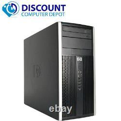 Fast HP Desktop Computer Tower PC Dual Core 2.8GHz 4GB RAM 320GB HD Windows 10
