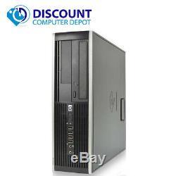 Fast HP Elite Windows 10 Core i5 Desktop Computer 3.1GHz 8GB 250GB 19 LCD Wifi