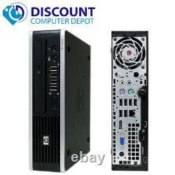 Fast HP Elite i5 Desktop Computer Windows 10 PC Quad Core CPU 8GB 320GB HD Wifi