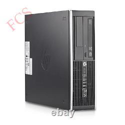 Fast HP Quad Core Pc Computer Desktop Tower Windows 10 Wifi 8gb Ram 1000gb Hdd