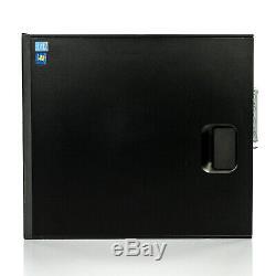 Fast Hp Computer Core i5 16GB 256GB SSD WiFi LCD Monitor Windows 10 Desktop PC
