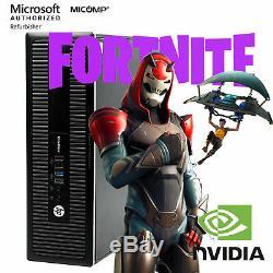 Fast Hp Gaming Computer Nvidia GT 1030 Quad i5 16GB RAM 2TB HDD HDMI WiFi Win 10