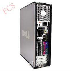 Full Dell/hp Dual Core/amd Desktop Tower Pc&tft Computer, Windows 10 &8gb 3tb