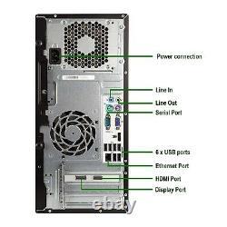 Gaming HP Desktop Computer MT Core i5 CPU 8GB, 1TB NVIDIA GT 1030 WiFi Win10H PC