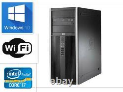 Gaming PC Desktop HP 6300 MT i7 16GB 256GB SSD+1000GB Win10 WIFI Monitor