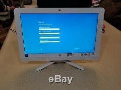 HP 20-c023w ALL-IN-ONE 20 Desktop PC 4GB RAM 500GB HDD Intel J3060 1.60GHz