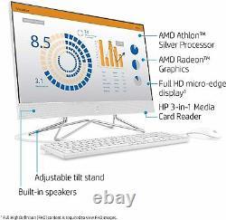 HP 24 Full HD AMD Athlon 3050U 8GB 256GB SSD All-in-One Desktop Computer