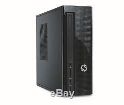 HP 270-p033w Slimline Celeron G3930 2.9GHz 4GB RAM 500GB HDD Win 10 Home Black