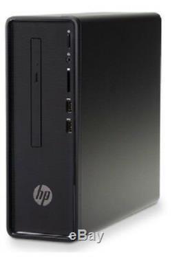 HP 290-p0043w Slim Celeron G4900 3.1GHz 4GB RAM 500GB HDD Win 10 Home Black