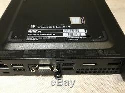 HP 600 G4 Desktop COMPUTER PC Mini Intel i5 8th Gen Hex-Core 8GB RAM 128GB SSD