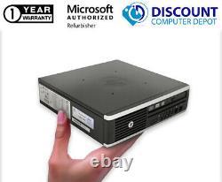HP 8000 Elite USFF Desktop Computer C2D 3.0GHz 4GB 250GB HD WiFi Windows 10 PC