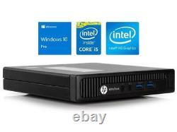 HP 800 G1 DM Tiny Mini Desktop PC i5-4590 8G RAM 256GB SSD Win10 WIFI