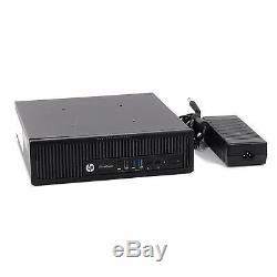 HP 800 G1 USFF Computer 8GB RAM 500GB HDD WiFi Core i5 Windows 10 PRO Computer