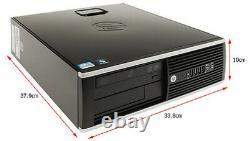 HP 8200 Elite Win 7 Professional 32Bit I5 Quad Core up to 3.4GHz Desktop PC