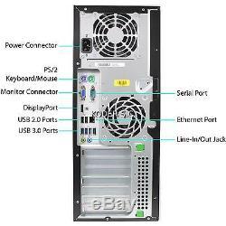 HP 8200 Pro Desktop Computer, 16GB RAM, 1TB, Intel i7 Quad Core 3.4GHz, Win 7