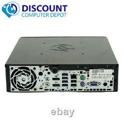 HP 8300 Slim Desktop Small Computer PC i5 3.1GHz 4GB 500GB Windows 10 Pro WiFi
