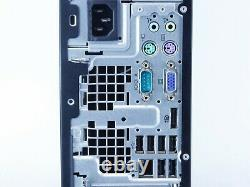 HP Compaq 6200 Pro SFF Intel i5 8GB RAM 500GB HDD Win 10 USB VGA B Grade Desktop