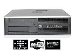 HP Compaq Desktop PC Intel Core i5 Quad Core Windows 7/10 250GB 4GB/8GB Wi-Fi