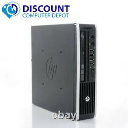 HP Compaq Elite 8200 Ultra Slim Desktop Computer Core i5 4GB 500GB Win 10 Pro