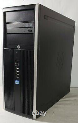 HP Compaq Elite 8300 MCT PC Intel i5-3470 3.2GHz 8GB RAM 1TB HDD Win 10 Pro