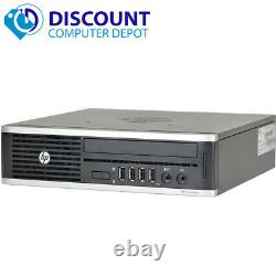 HP Compaq Elite 8300 Ultra-Slim Desktop PC i5 4GB 500GB Windows 10 Pro WiFi DVD