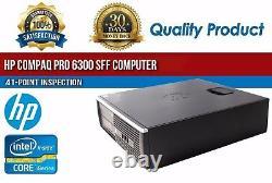 HP Compaq Pro 6300 SFF Intel i5 8GB RAM 500GB HDD Win 10 USB VGA B Grade Desktop