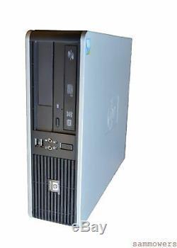 HP Compaq Pro SFF AMD A4-5300B CPU APU 3.40GHz 8GB 1TB 19 INCH Windows 10 Pro