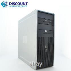 HP DC Desktop Computer PC Tower Intel Dual Core 4GB 160GB DVD-RW WiFi 17 LCD