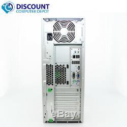 HP DC Desktop PC Computer Tower Windows 10 Intel 1.8GHz 8GB 250GB