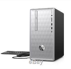 HP Desktop Computer 12GB 1TB WIN10 WiFi DVD+RW HDMI Bluetooth (FULLY LOADED)