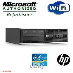 HP Desktop Computer 16GB 2TB 480GB SSD Quad Core i5 Windows 10 Pro PC 22 LCD