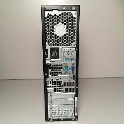 HP Desktop Computer 3.16GHz 4GB DVDRW Parallel Port Win XP Pro 32bit