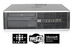 HP Desktop Computer 6000/8000 Windows 7 Pro Intel Core 2 Duo 3GHz 4GB WIFI